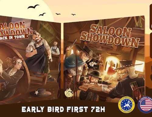 Saloon Showdown Kickstarter Spotlight