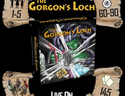 The Gorgon's Loch – Save your Souls, Defeat the Gorgon Queen Kickstarter Spotlight