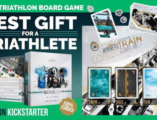 Triathlon Series. The Board Game Kickstarter Spotlight