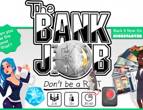 The Bank Job – Don't Be A Rat! Kickstarter Spotlight