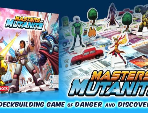 Masters of Mutanite Kickstarter Preview
