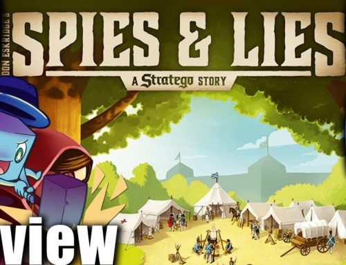 Spies & Lies: A Stratego Story Review – with Tom Vasel