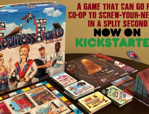 Fearless Franco board game Kickstarter Preview