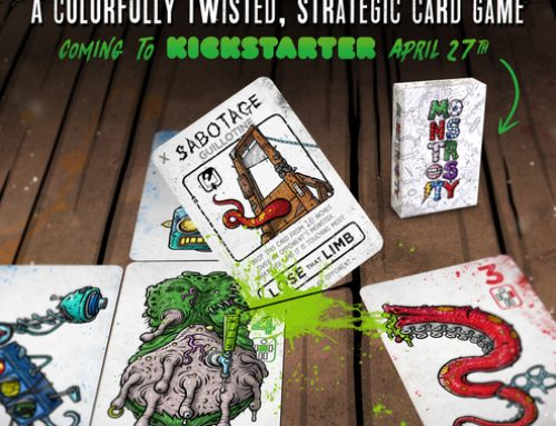 Monstrosity, The Card Game Kickstarter Preview