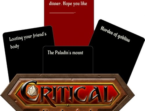 Critical Fail: A Fill-in-the-Blank Party Game for RPG Lovers Kickstarter Spotlight