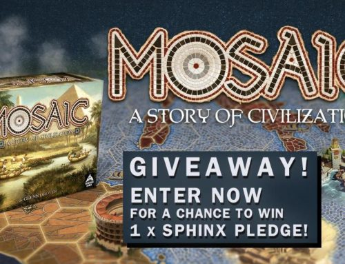 Mosaic – A Story of Civilization Kickstarter Giveaway!